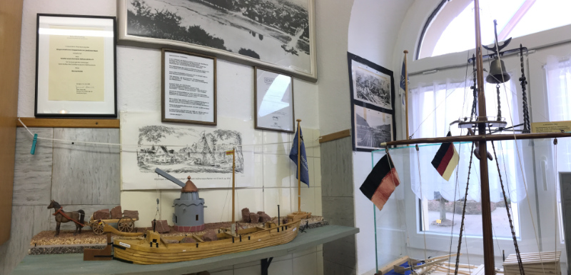 Modelle im Museum